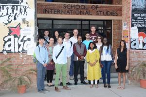CIR students at the Asian International Relations Seminar in Delhi